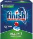 Таблетки для посудомоечных машин Finish Powerball All in One Deep Clean (50шт) -