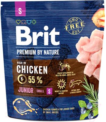 Корм для собак Brit Premium by Nature Junior S / 526253