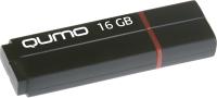 Usb flash накопитель Qumo Speedster 16GB 3.0 / QM16GUD3-SP (черный) -