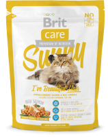 Корм для кошек Brit Care Cat Sunny I've Beautiful Hair / 132620 (400г) -