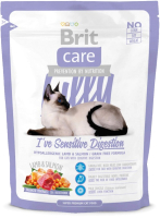 Корм для кошек Brit Care Cat Lilly I've Sensitive Digestion / 132617 (400г) -