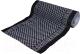 Коврик грязезащитный VORTEX Siesta 60x90 / 24082 (черный/серый) -
