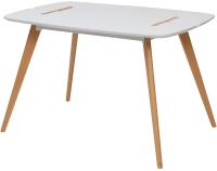 Обеденный стол Дамавер Oxalis 120 / 269OXALIS120WHBHW -