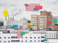 Авторская картина ХO-Gallery Чистый город / ЕХ-2020-006 -