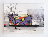 Авторская картина ХO-Gallery Стрит-арт Малиновки / ЕХ-2020-007 -