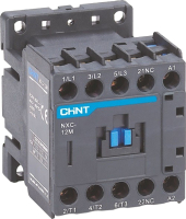 Контактор Chint NXC-12M10 12A 220В/АС3 1НО 50Гц / 836580 -