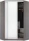 Шкаф Кортекс-мебель Сенатор ШК30 Классика ДСП (береза/белый) -