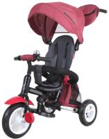 Детский велосипед с ручкой Lorelli Moovo Air Red Black Luxe / 10050460018 -
