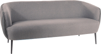 Диван Signal Lenox 3 Tap.160-161 (серый/черный) -