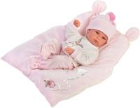 Пупс Llorens С розовой подушкой / 63556 -