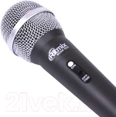 Микрофон Ritmix RDM-150 (черный)