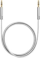 Кабель Deppa AUX-кабель / 72198 (серебристый) -