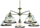 Люстра Arte Lamp Oglio Bronze A9273LM-5AB -