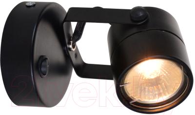 Спот Arte Lamp Lente Nero A1310AP-1BK