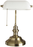 Настольная лампа Arte Lamp Banker A2493LT-1AB -