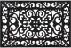 Коврик грязезащитный VORTEX 40x60 / 24187 (черный) -