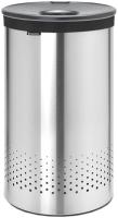 Бак для белья Brabantia 105166 (стальной матовый/темно-серый) -