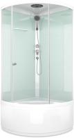 Душевая кабина Domani-Spa Simple High / DS01S99HWCl00 (белый/прозрачное стекло) -
