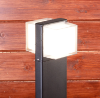 Фонарь уличный Elektrostandard 1520 Techno LED Maul (черный) -