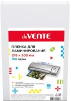 Пленка для ламинирования deVente 4122305 (100л, глянцевая) -