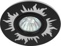 Точечный светильник ЭРА DK LD30 BK / Б0036498 -
