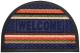 Коврик грязезащитный VORTEX Comfort Welcomе 40x60 / 22385 (синий) -