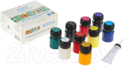 Акриловые краски Decola Для витража / 42411065 (9шт)