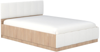 Каркас кровати Mobi Линда 303 140 (дуб сонома/белый/гранд белый) -