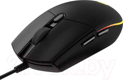 Мышь Logitech G102 Lightsync / 910-005823 (черный)