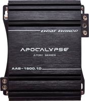 Автомобильный усилитель Alphard Apocalypse AAB-1500.1D Atom -
