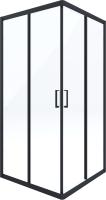 Душевой уголок Deante Funkia KYC N41K (черный) -