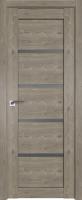 Дверь межкомнатная ProfilDoors 2.09XN 80x200 (каштан темный/стекло графит) -