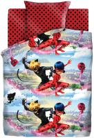 Комплект постельного белья Непоседа LadyBug. Леди Баг и Супер Кот / 504213 -