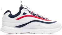 Кроссовки Fila Ray 1CM00501-125 / M005001210 (р-р 10.5, белый/темно-синий/красный) -