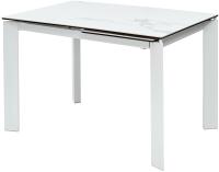 Обеденный стол Дамавер Corner 120 / DECDF5052THGSTATWHT -