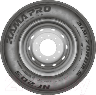 Грузовая шина KAMA PRO NF 203 295/80R22.5 152/148M Рулевая