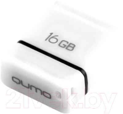 Usb flash накопитель Qumo Nano 16GB White / QM16GUD-NANO-W