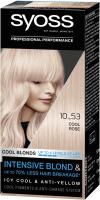 Крем-краска для волос Syoss Permanent Coloration осветлитель 10-53 (ледяной блонд) -