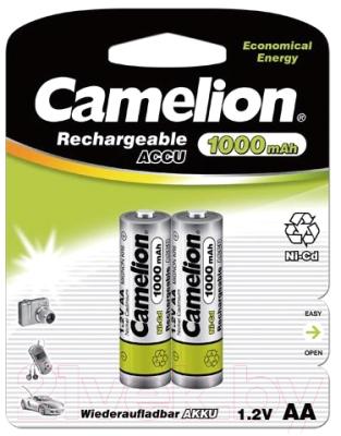 Комплект аккумуляторов Camelion NC-AA1000BP2