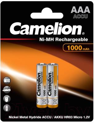 Комплект аккумуляторов Camelion NH-AAA1000BP2