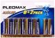 Батарейка Pleomax LR6 BL-8+2 -