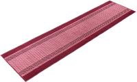Коврик VORTEX Madrid 50x190 / 22449 (темно-бордовый) -