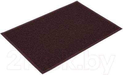 Коврик грязезащитный VORTEX 60x90 / 22200 коврик грязезащитный резиновый лапша vortex черно серый полосы 22408 40х60 см