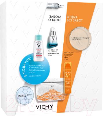 Набор косметики для лица Vichy Отдых без забот спрей Capital Soleil+сывор.Mineral 89+мицел.вода