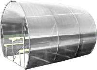 Беседка КомфортПром Пион 3м с покрытием (молочный) -
