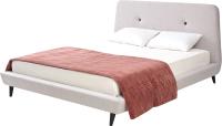 Двуспальная кровать Дамавер Sweet Tomas 160x200 / TMSST3 (ткань Stone 3) -