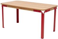 Обеденный стол Дамавер Apsaras / GT389NATURALRED -