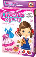 Развивающая игра Русский стиль Одень куклу. Малышка Машенька / 03174 -