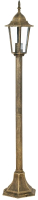 Светильник уличный Camelion 6101-1 C28 / 10543 (бронза) -