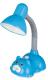 Настольная лампа Camelion KD-385 C13 / 12615 (голубой) -